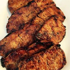 """Chinese Pork Chops Recipe Chinese Pork Chops I """"These turned out. Pork Rib Recipes, Meat Recipes, Mexican Recipes, Asian Recipes, Recipies, Dinner Recipes, Dessert Recipes, Chinese Pork Chops, Cooking Boneless Pork Chops"""