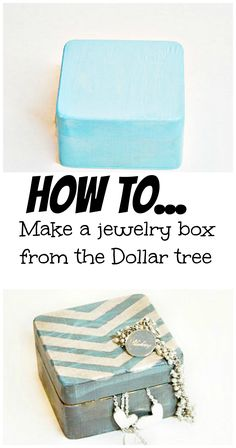A Dollar Tree Arrow Jewelry Box