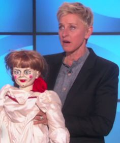 Watch Ellen Degeneres scare the crap out of her producer with an epic prank
