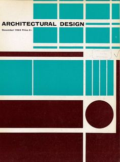 @Patrick_Myles #architectureinprint 1960s Architecturual Design covers  via @studio_sparrowh