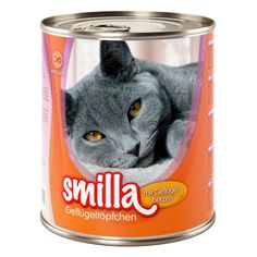 Animalerie  Smilla volaille 6 x 800 g pour chat  volaille bœuf