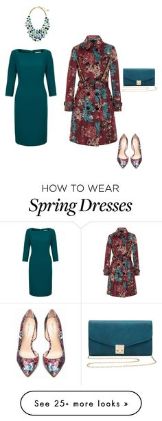 """""""Untitled #628"""" by mokeefe425 on Polyvore featuring Burberry, Fenn Wright Manson, Bebe, M&Co and Lauren Ralph Lauren"""
