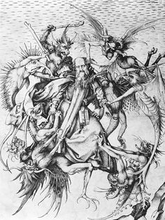 1470s : Saint Anthony tormented by demons
