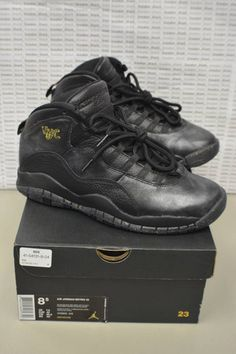 buy popular bb572 6feef Nike Air Jordan Retro 10 NYC 310805 012 Size 8.5 VNDS NICE