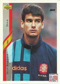 GUARDIOLA (Selección Española - 1994)