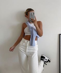 Mode Outfits, Girl Outfits, Fashion Outfits, Mode Swag, Looks Pinterest, Mode Ootd, Vetement Fashion, Elegantes Outfit, School Looks