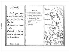 Modelos de cartão de dia das mães para lembrancinha