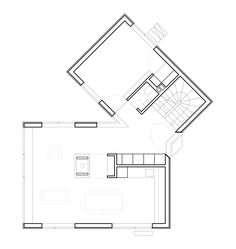 House in Les Jeurs / Lacroix Chessex Architectes, Floor Plan-G