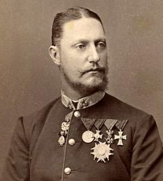 Archduke Karl Salvator of Austria- Tuscany (1839 – 1892).  He was the second son of Leopold II, Grand Duke of Tuscany.