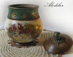 Chandelier Wedding Decor, Wedding Decorations, Art Pics, Art Pictures, Decoupage Jars, Vase, Bottle, Home Decor, Jars