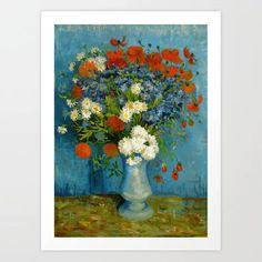 Vincent Van Gogh Les Vessenots a Auvers Giclee Canvas Print Paintings Poster Rep