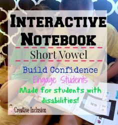 Interactive Notebook for Special Education- Wow! #specialeducation