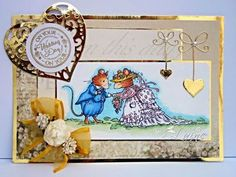 Dream Laine: Crafter's Companion Brambly Hedge Wedding for @SpectrumNoir  Challenge
