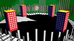 【AviUtl】モーショングラフィックス的な実況OP2【Motion Graphics】