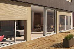 Le volet roulant standard se caractérise par un caisson droit. Il pourra s'adapter à tous les types de constructions neuves et améliorer votre quotidien ainsi que vos économies d'énergies. #Oknoplast #volet #fenêtre #habitat #maison | oknoplast.gallisrl.eu