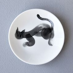 www.ojacraft.com #ojacraft #studio_oja #ceramic #art #cat #plate #dish #tableware #living #casa #livingdesign #handmade #craft
