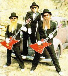Only If They're Sharp-Dressed Men Zz Top, Rock Roll, Rock & Pop, Billy Gibbons, Blues Rock, Rat Rods, Heavy Metal, Frank Beard, Vintage Bridesmaid Dresses