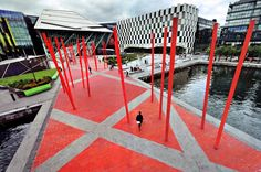 Image result for Grand Canal Square Dublin