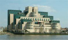 Secret Intelligence Service building - Vauxhall Cross - Vauxhall - London - from Millbank 24042004.jpg