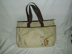 Disney Winnie The Pooh Diaper Bag Changing Pad Bottle Large My First Adventure…
