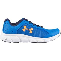 Under Armour Kids' BGS Micro G Assert 6 Running Shoes (Ultra  Blue/White/Blaze Orange, Size 5) - Youth Running Shoes at Academy Sports