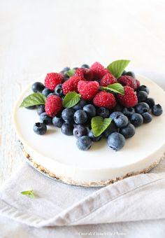Cheesecake super leggera (e senza cottura) ai Frutti di Bosco