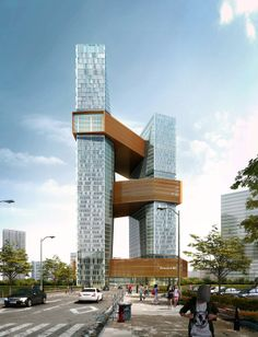 "Tencent is building an amazing new ""vertical campus""in China."