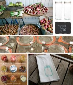 Canning from a cool site called kinfolk!