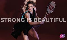 Andrea Petkovic - Strong is beautiful