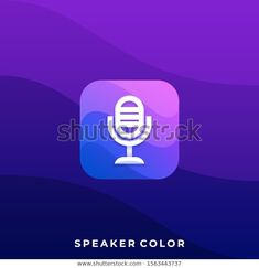 Find Microphone Mobile Icon Application Illustration Vector stock images in HD and millions of other royalty-free stock photos, illustrations and vectors in the Shutterstock collection. Thousands of new, high-quality pictures added every day. Mobile Icon, Media Icon, Creative Industries, Illustration, Royalty Free Stock Photos, Image, Color, Illustrations, Colour
