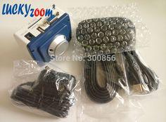 Lucky zoom 3680A VGA Industrial HD Microscope USB Camera 1/2.86 30fps Panasonic Sensor 1920*1080 W/ Wireless Mouse Free Shipping