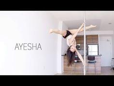 Ayesha   Pole Diaries - YouTube