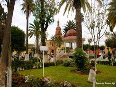 Plaza en Rincon de Romos, Ags. Mex.