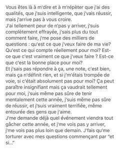 Et si… on se laissait allez, et si on n'y pensait plus – Best Quotes Bad Quotes, Some Quotes, Quotes For Him, Quotes To Live By, Deep Texts, Bullying Quotes, Wattpad Quotes, Love Text, French Quotes