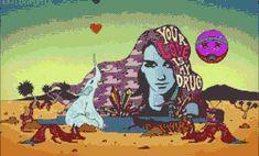drugs weed cannabis lsd the beatles acid psychedelic meth marihuana mdma acid trip lucy in the sky with diamonds crystal meth mota peyote ayahuasca hikuri psychedelyc art yague