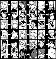tite kubo's art really has evolved quite dramatically, hasn't it?