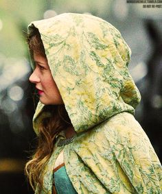 Belle from Once Upon A Time  ~A Space of Flowers -I love this cloak so much.