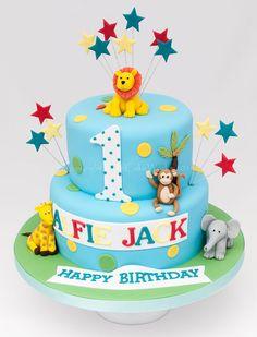 1st First Birthday Boy Safari - Google Search