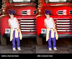 How to Pop Color Selectively Using Channel Mixers and Layer Masks in Photoshop