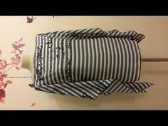 Una tunica con due rettangoli di stoffa da cucire in 10 minuti - SITAM - YouTube
