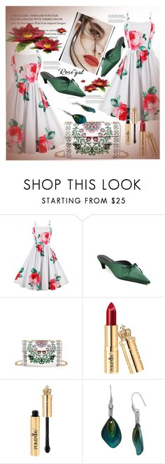 """""""Rosegal contest"""" by pesanjsp ❤ liked on Polyvore featuring Lily Jean, Robert Lee Morris and vintage"""