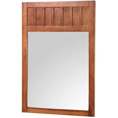 Foremost KNCM2434 Knoxville 24Inch Width x 34Inch Height Framed Mirror Nutmeg -- You can find more details by visiting the image link.
