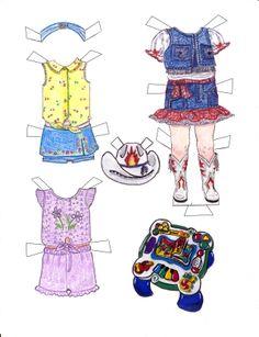 Makenna page 7 printable paper doll paperdolls