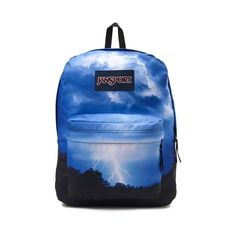 Take this semester by storm with the new High Stakes Lightning Backpack from JanSport! This High Stakes Backpack sports electrifying, lightning graphics with plenty of organizational space, and lightweight construction that's perfect for everyday use.