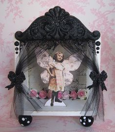 French Fairy Shadow Box