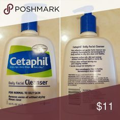 Hygiene - Facial - Cleanser Cetaphil Daily Facial Cleanser - Used - Only Used A Time Or Two - Still Plenty Of Product Left - Top Is A Twist Top To Open & Use/Close Cetaphil Other