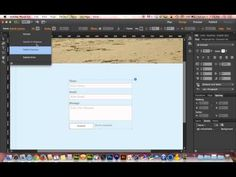Adobe Muse CC 2014 Tutorial | Mastering Contact Forms - YouTube