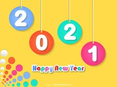 Free Happy New Year 2021 Background for Kids Happy New Year Hd, Happy New Year Banner, Happy New Year Images, New Year Greeting Cards, New Year Greetings, Kids Vector, Vector Free, New Years Poster, Banner Design