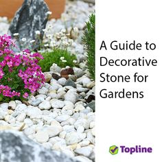Did you know decorative stone can be used for drainage, weed control and landscaping?
