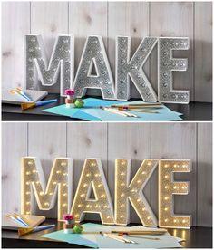 Create unique marque
